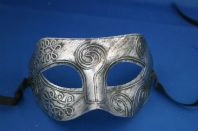 Silver Greek God Mask